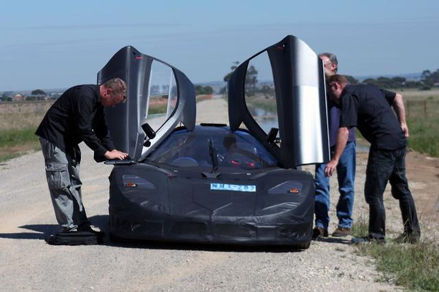 Joss Supercar Edges Closer Motoring Com Au