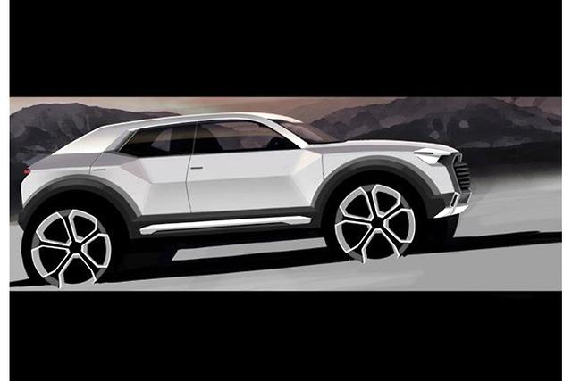 Baby Audi Q1 Suv Due In 2016