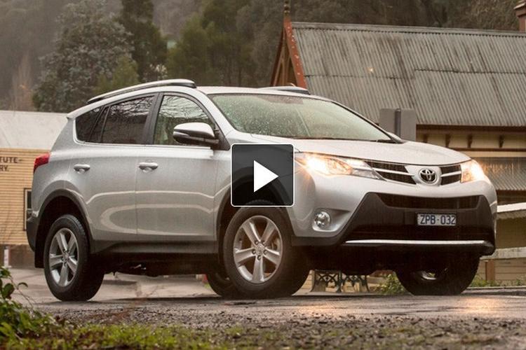 Mid Size SUV Comparison 2013: Toyota RAV4