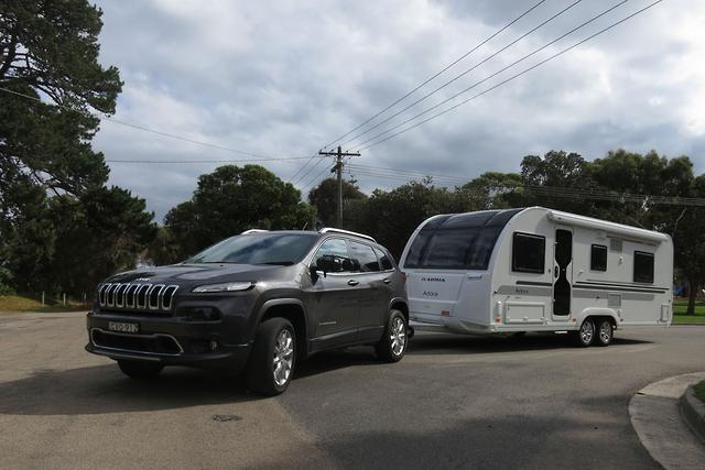 jeep cherokee limited crdi 2015 tow test. Black Bedroom Furniture Sets. Home Design Ideas