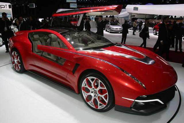 Geneva Motor Show Italdesign Brivido Motoring