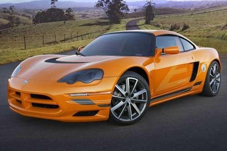 Dodge Unveils All Electric Sportscar