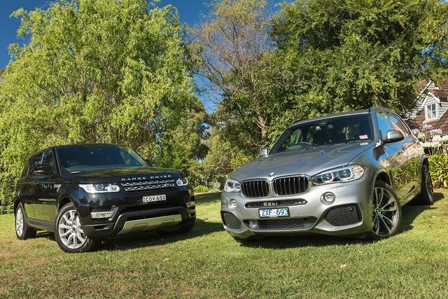 BMW X5 v Range Rover Sport 2014 Comparison  motoringcomau