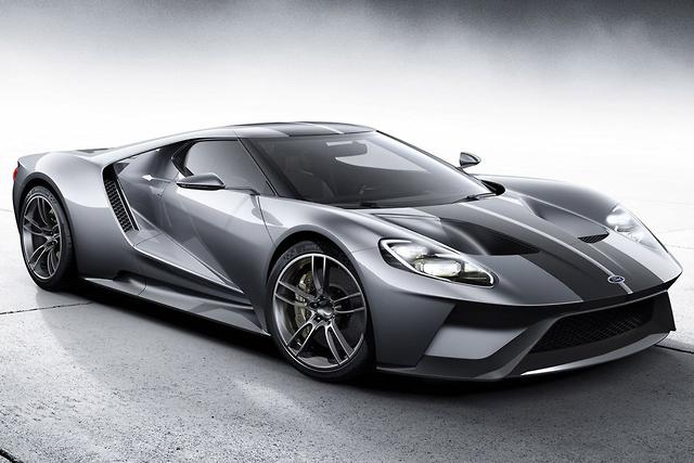 Ford Gt Turns Silver