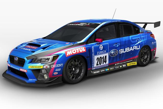 Subaru WRX STI race car - motoring com au