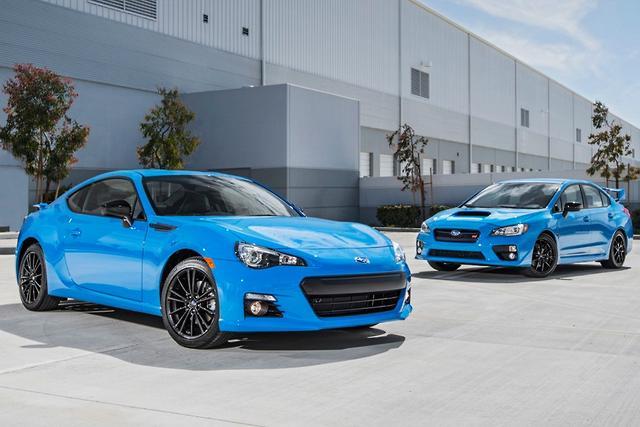 Hyper Blue For Subaru Motoring Com Au