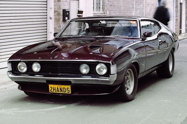 Comedian to sell classic Ford Falcon - motoring com au