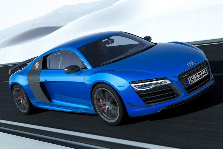 Captivating Laser Lit Audi R8 To Cost $440K