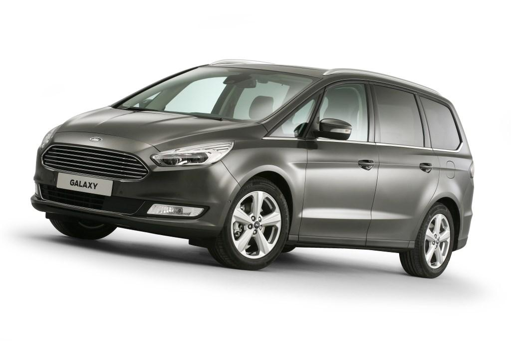 New Ford Galaxy Unveiled