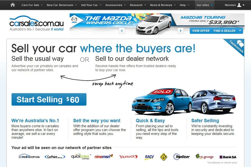 New ways to sell at carsales - motoring.com.au