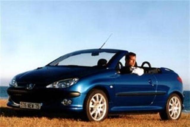 Peugeot 206cc - Peugeot 206 coupe cabriolet review ...