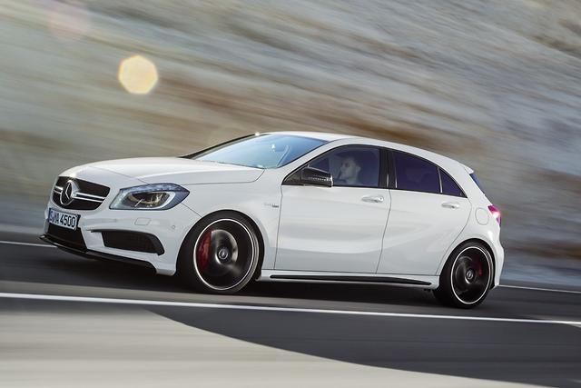 Mercedes A 45 AMG sold out until mid-2014 - motoring com au