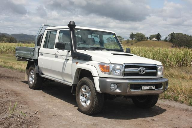 Toyota Landcruiser 79 Series Double Cab 2012 Road Test
