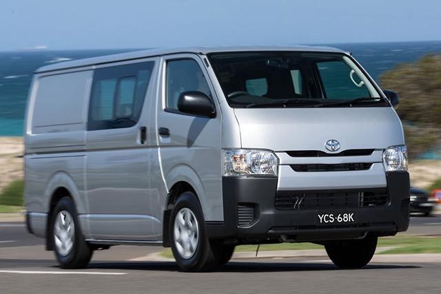 67f0728ad8 Revised HiAce on sale - motoring.com.au