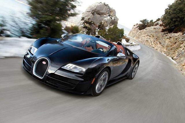 World S Fastest Roadster Bugatti Veyron 16 4 Grand Sport Vitesse