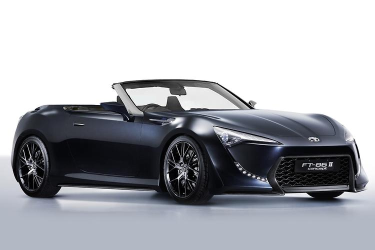 tokyo motor show toyota 86 convertible a possibility. Black Bedroom Furniture Sets. Home Design Ideas