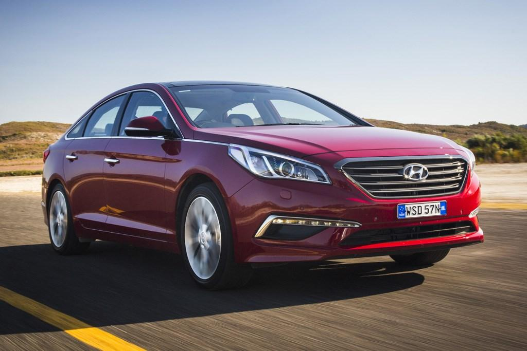 hire iran car hyundai sonata rental
