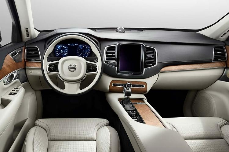 First official pics: Volvo XC90 interior - motoring com au