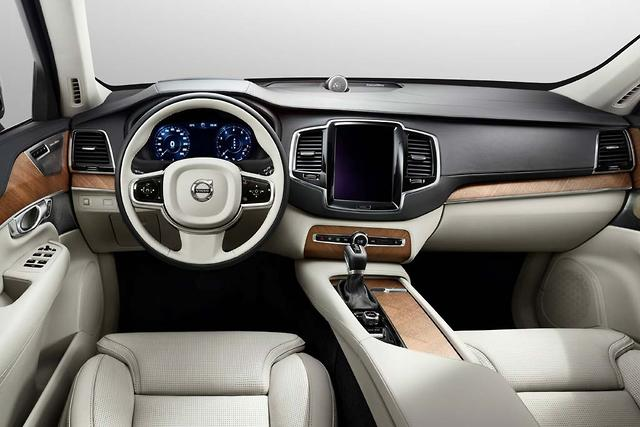 First Official Pics Volvo Xc90 Interior Motoring Com Au