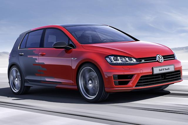 Volkswagen Golf R Touch concept at CES - motoring com au