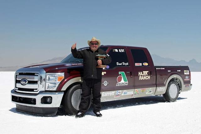 Fastest Diesel Truck >> World S Fastest Diesel F Series Breaks Two Records