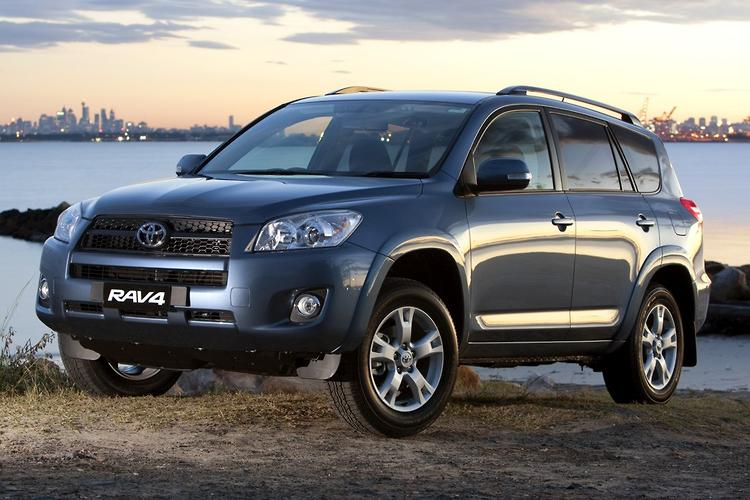 Toyota Recalls RAV4 For Rear Suspension Check