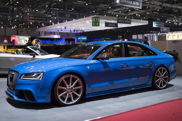 Geneva Motor Show Mtm Celebrates With 590kw Audi S8