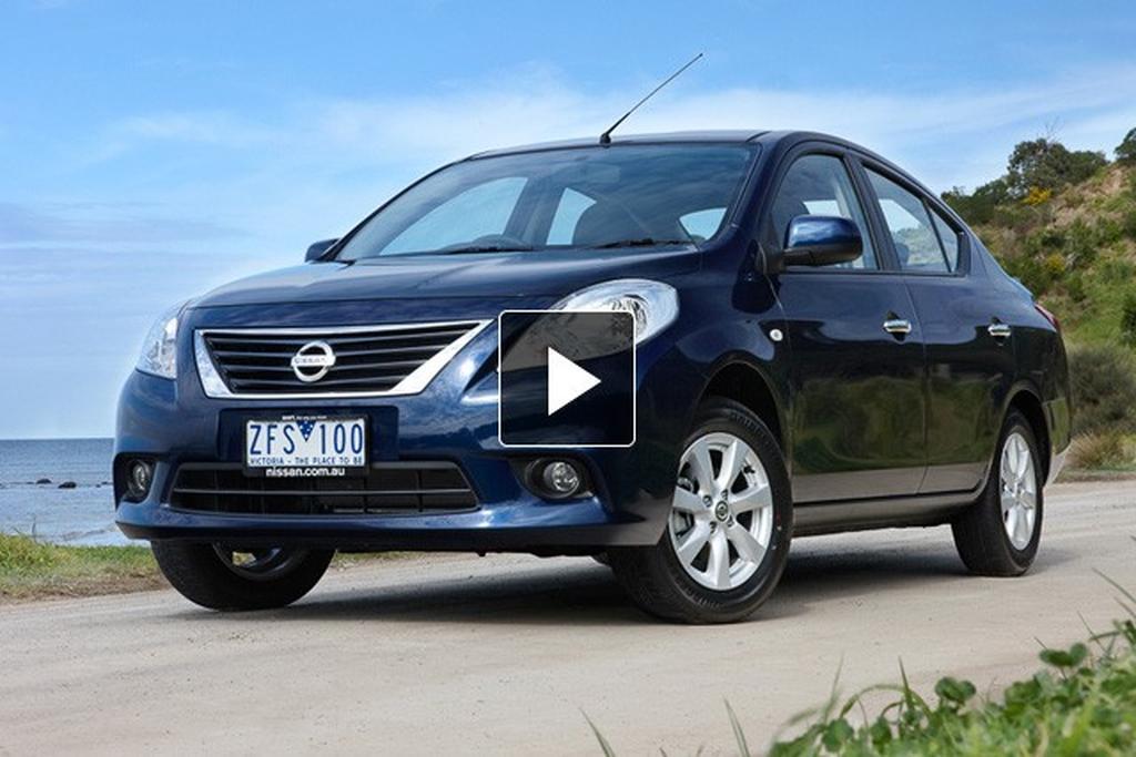 nissan almera: 2012 video review - motoring.au