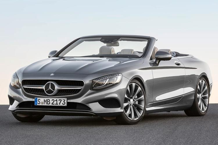 FRANKFURT MOTOR SHOW: Mercedes-Benz S-Class Cabriolet