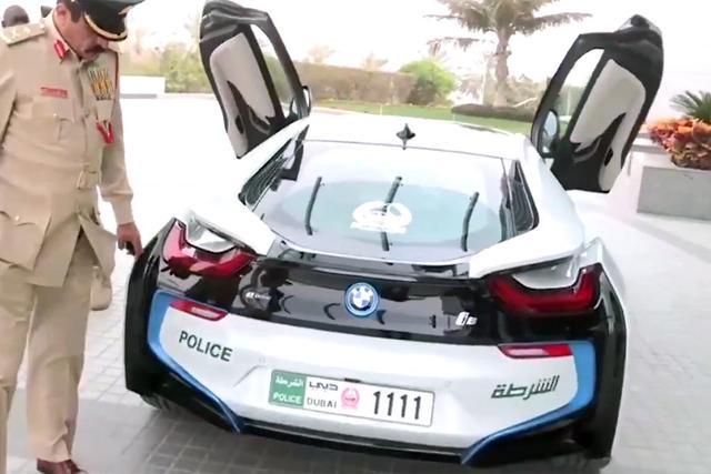Dubai Police Get Bmw I8 Motoring Com Au