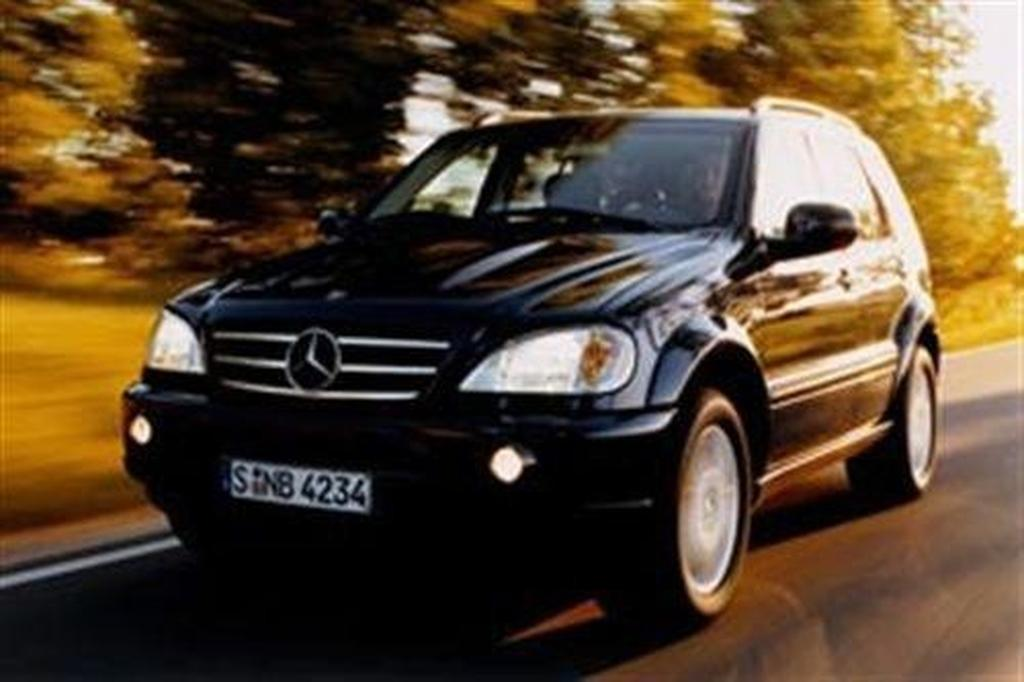 mercedes-benz ml55 - motoring.au