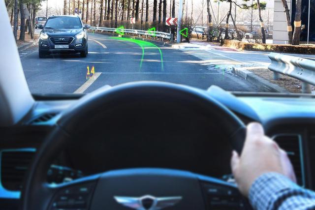 Hyundai unveils holographic head-up display - motoring com au