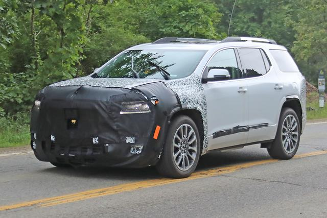 2020 GMC Acadia: Mid-update, News, Release >> Spy Pics Incoming Holden Acadia Already Facelifted Motoring Com Au