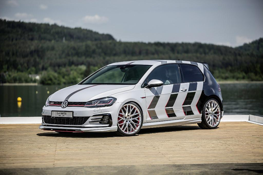 Gti Hatch And Golf Wagon Get Heavily Customised For Austrian Fan Meet