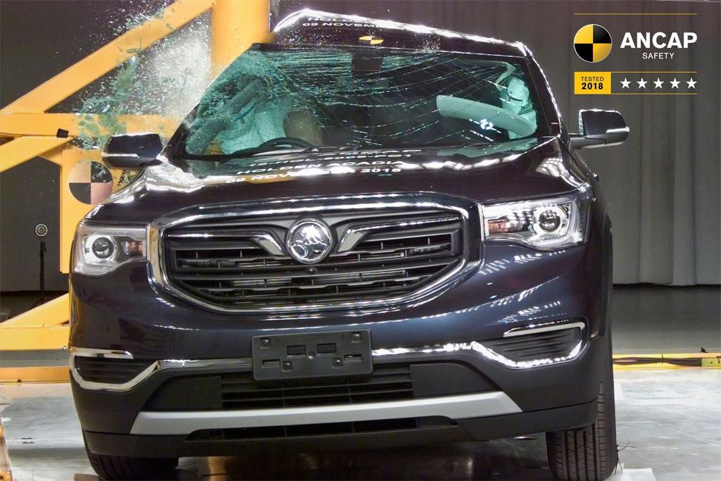 Holden Acadia Gets Five Star Ancap Safety Rating Motoringcomau
