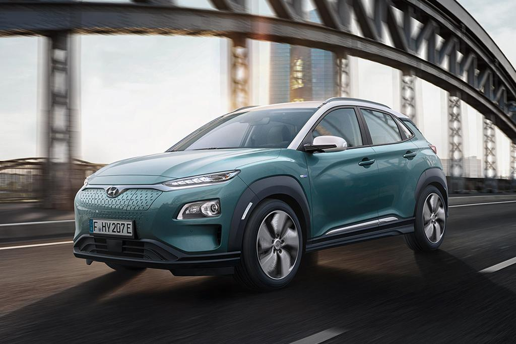 Hyundai Kona Electric Suv Revealed