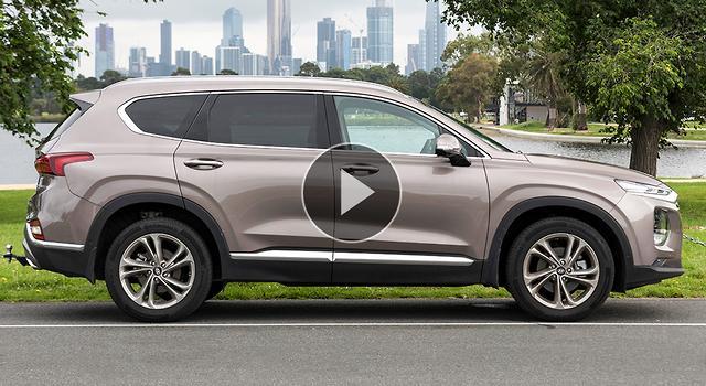 Hyundai Santa Fe Highlander 2019 Video Review - motoring com au