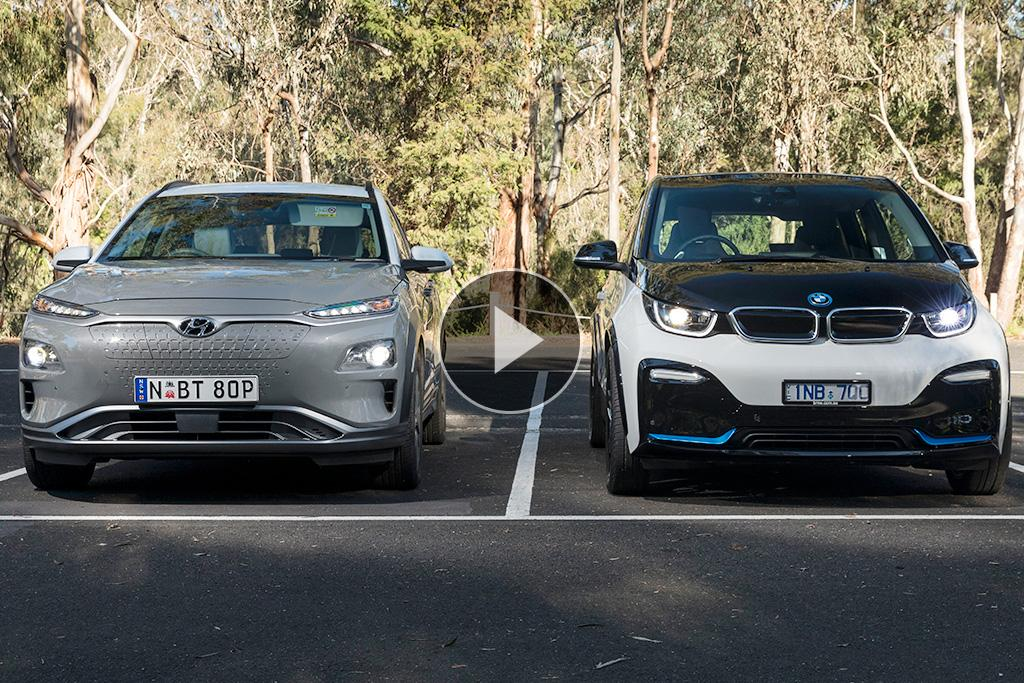Bmw I3s V Hyundai Kona Electric 2019 Video Comparison