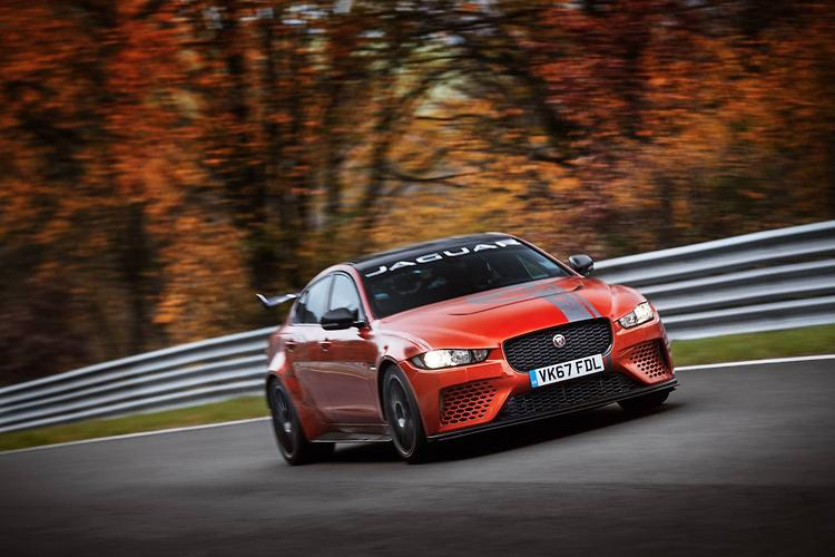 Jaguar smashes Nurburgring record for sedans