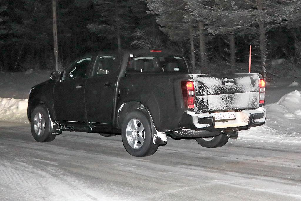 Spy Pics Next Gen Isuzu D Max Ute Exposed Motoring Com Au