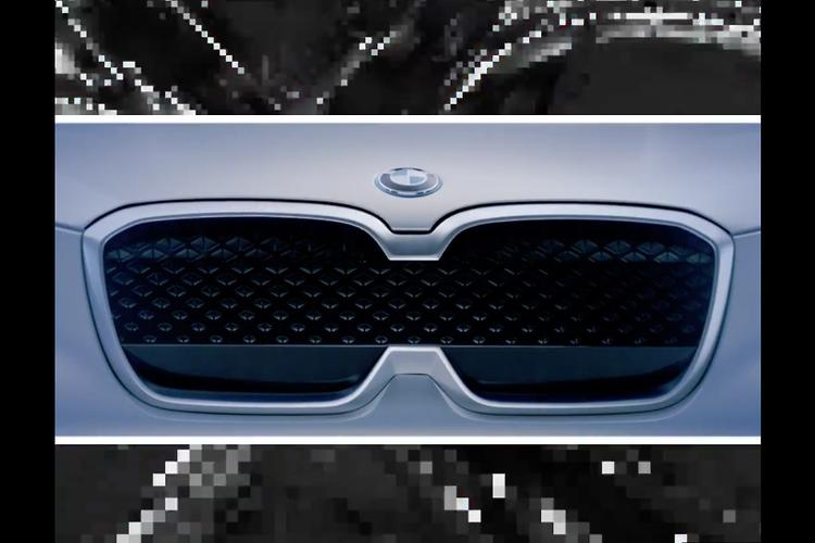 BMW iX3 all-electric SUV teased
