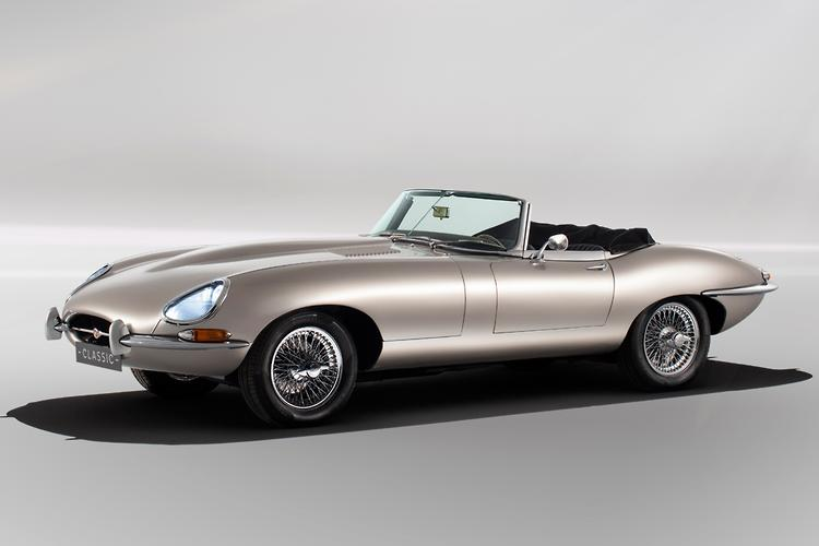 New jaguar e type