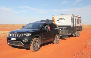 Jeep Grand Cherokee 2018 Tow Test Review