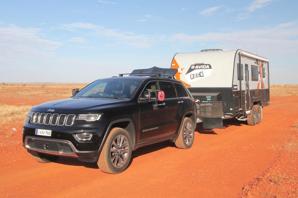 jeep grand cherokee 2018 tow test review. Black Bedroom Furniture Sets. Home Design Ideas