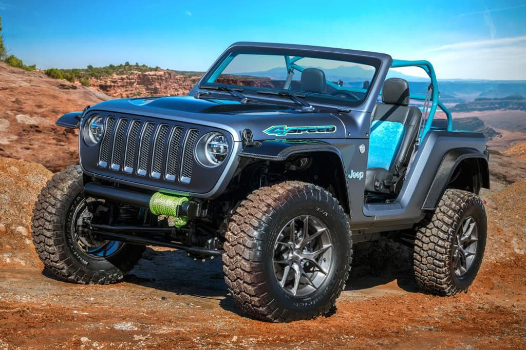 The First Called Jeep 4sd Has Been Created To Be A Stripped Lightweight Short Wheelbase Version Of Wrangler Weight Saving Extends