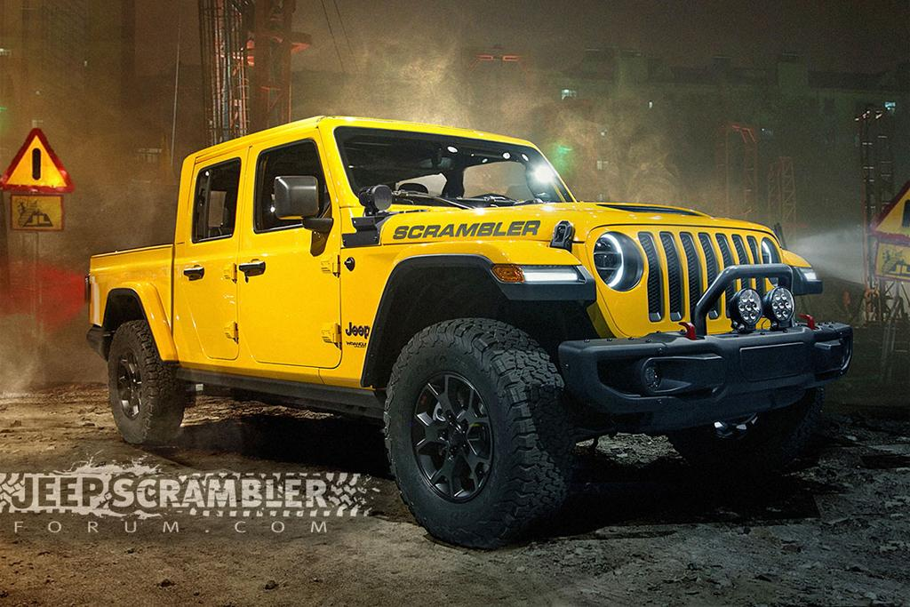 what year was the jeep scrambler made