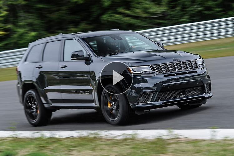 Jeep Grand Cherokee Trackhawk Video Review Motoring Com Au