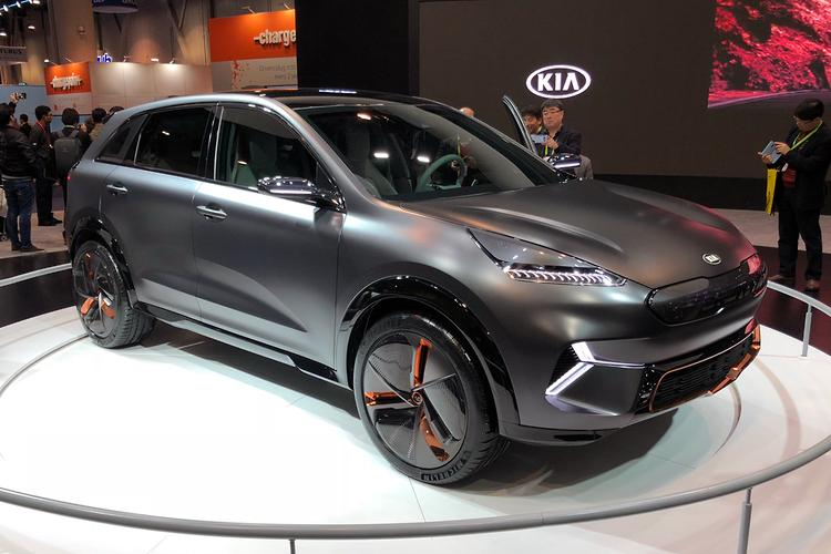 CES 2018: Kia lobs Niro EV concept - motoring.com.au