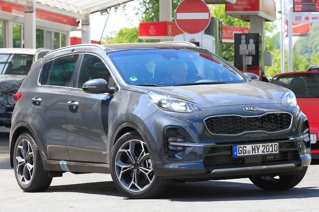 kia mild sportage date hybrid price first pictures by system and tweaks news include facelift specs new official release car