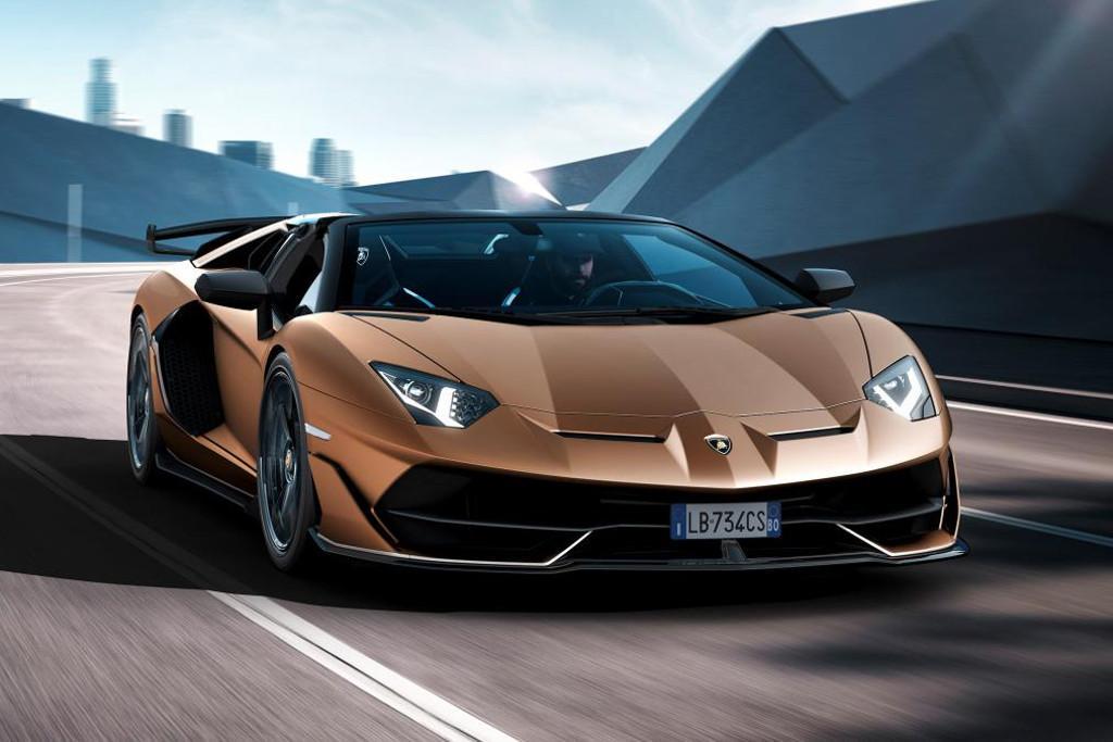 Geneva Motor Show Lamborghini Aventador Svj Roadster Stars
